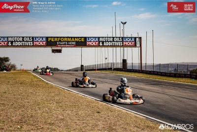 Flandria Kart GEN2-Modified on South African F400 Challenge podium