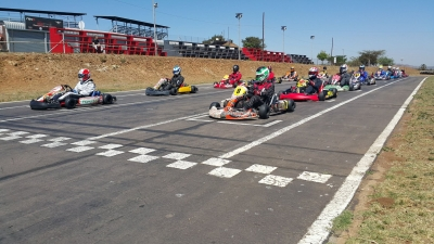 Flandria Kart South Africa Poles, and a P4 Finish at the F400